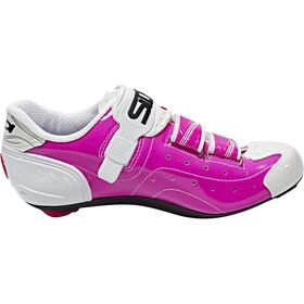 Sidi Alba Shoes Dame fuxia/white